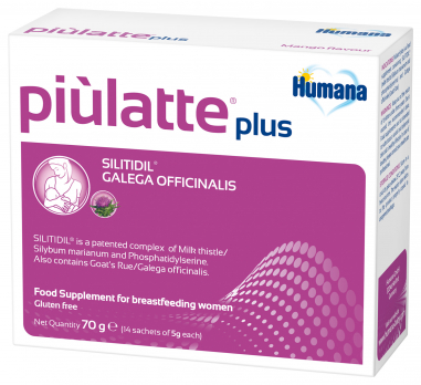 Humana Piulatte plus, 70 г