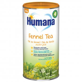 Чай Humana з фенхелем і кмином, 200 г (термін придатності  10.05.2021)